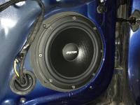 Установка акустики Eton POW 200.2 Compression в Audi A1