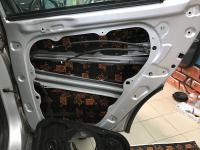 Установка Comfort Mat Dark D2 в Hyundai Tucson III