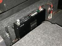 Установка усилителя Audio System M-90.4 в Volkswagen Golf Plus