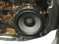 Установка акустики Morel Tempo Ultra 602 в Nissan Patrol