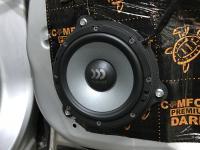 Установка акустики Morel Maximo Ultra 602 в Nissan Qashqai (J11)