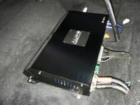 Установка усилителя Audio System M-90.4 в Toyota Camry V50