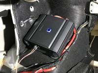 Установка усилителя Alpine S-A60M в BMW 5 (G30)