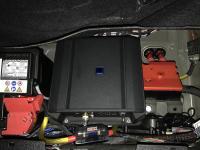 Установка усилителя Alpine S-A60M в BMW X5 (G05)