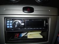 Фотография установки магнитолы Alpine CDE-9882Ri в Chevrolet Lacetti