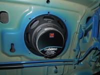 Установка акустики Morel Maximo Coax 6 в Chevrolet Aveo T300