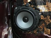 Установка акустики Morel Tempo Ultra Integra 602 в Toyota Highlander