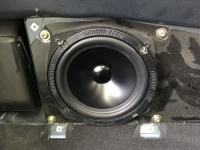 Установка акустики Ground Zero GZRK 165SQ в BMW Z4 (E89)