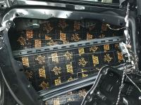 Установка Comfort Mat Dark D2 в Mercedes GLS (X167)