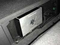 Установка усилителя ESX QE80.6DSP в Volkswagen Touareg III