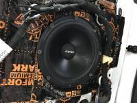 Установка акустики Eton POW 172.2 Compression в Peugeot 208