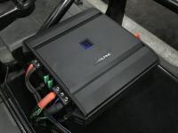 Установка усилителя Alpine S-A60M в Citroen Jumper