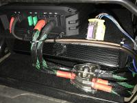 Установка усилителя Audio System M-90.4 в Citroen Jumper