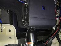 Установка усилителя Audio System M-90.4 в Mitsubishi Pajero Sport III