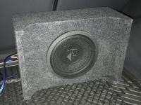 Установка сабвуфера Helix K 10W в Mitsubishi Pajero Sport III