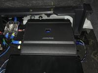 Установка усилителя Alpine S-A60M в Infiniti QX50