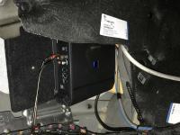 Установка усилителя Alpine S-A60M в BMW 7 (G12)
