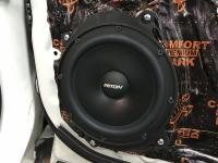 Установка акустики Eton POW 200.2 Compression в Subaru Forester (SJ)