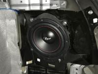 Установка сабвуфера Challenger Opus SD-200FA в Subaru Outback (BS)