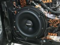 Установка акустики Eton POW 200.2 Compression в Audi A7