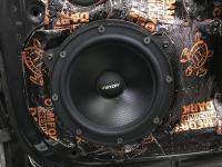 Установка акустики Eton POW 172.2 Compression в Audi A7