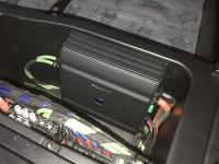 Установка усилителя Alpine S-A60M в BMW X5 (E70)
