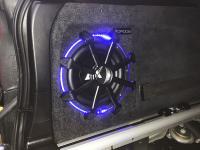 Установка сабвуфера ESX SX1040 в BMW X5 (E70)