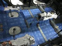 Установка Comfort Mat BlockShot в Mitsubishi Outlander III