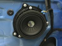 Установка акустики Eton B 100 W в BMW X1 (F48)