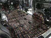 Установка Comfort Mat Dark D3 в Volkswagen Caravelle T6.1