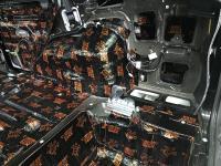 Установка Comfort Mat Dark D3 в Mitsubishi Pajero IV