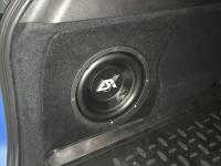 Установка сабвуфера ESX SX1040 в BMW X1 (F48)