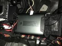 Установка усилителя JBL DSP4086 в Mercedes E class (W213)
