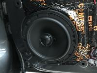 Установка акустики Morel Tempo Coax 6 в Citroen C4L sedan