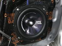 Установка акустики MTX TX265S в Mitsubishi Pajero IV