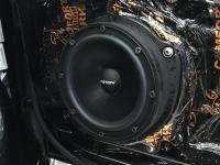 Установка акустики Eton POW 200.2 Compression в Audi TT III (8S)