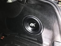 Установка сабвуфера ESX SX1040 в Mercedes C class (W205)