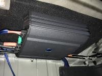 Установка усилителя Alpine S-A60M в Hyundai Solaris II