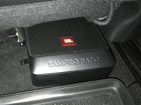 Установка сабвуфера JBL BassPro Nano в Mazda 6 (III)