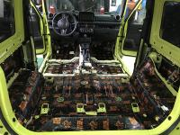 Установка Comfort Mat BlockShot в Suzuki Jimny IV