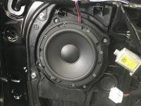 Установка акустики Morel Tempo 6 в Hyundai Santa Fe (III)