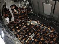 Установка Comfort Mat Dark D3 в Nissan X-Trail (T30)
