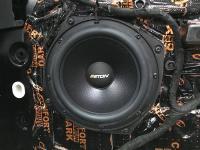 Установка акустики Eton POW 200.2 Compression в Land Rover Discovery 5