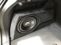 Установка сабвуфера ESX SX1040 в Volkswagen Tiguan II