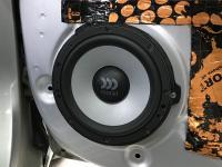 Установка акустики Morel Maximo Ultra 602 в Hyundai Solaris II