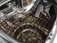 Установка Comfort Mat Dark D3 в Hyundai Solaris