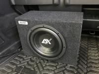 Установка сабвуфера ESX SX1040 в Mercedes Vito III (W447)