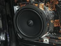Установка акустики Focal Universal ISU200 в Volkswagen Tiguan II
