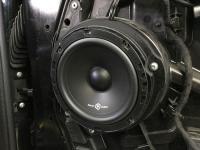 Установка акустики SoundQubed QS-6.5 в Mercedes V class (W447)