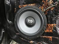 Установка акустики Morel Tempo Ultra 602 в Mitsubishi Pajero Sport